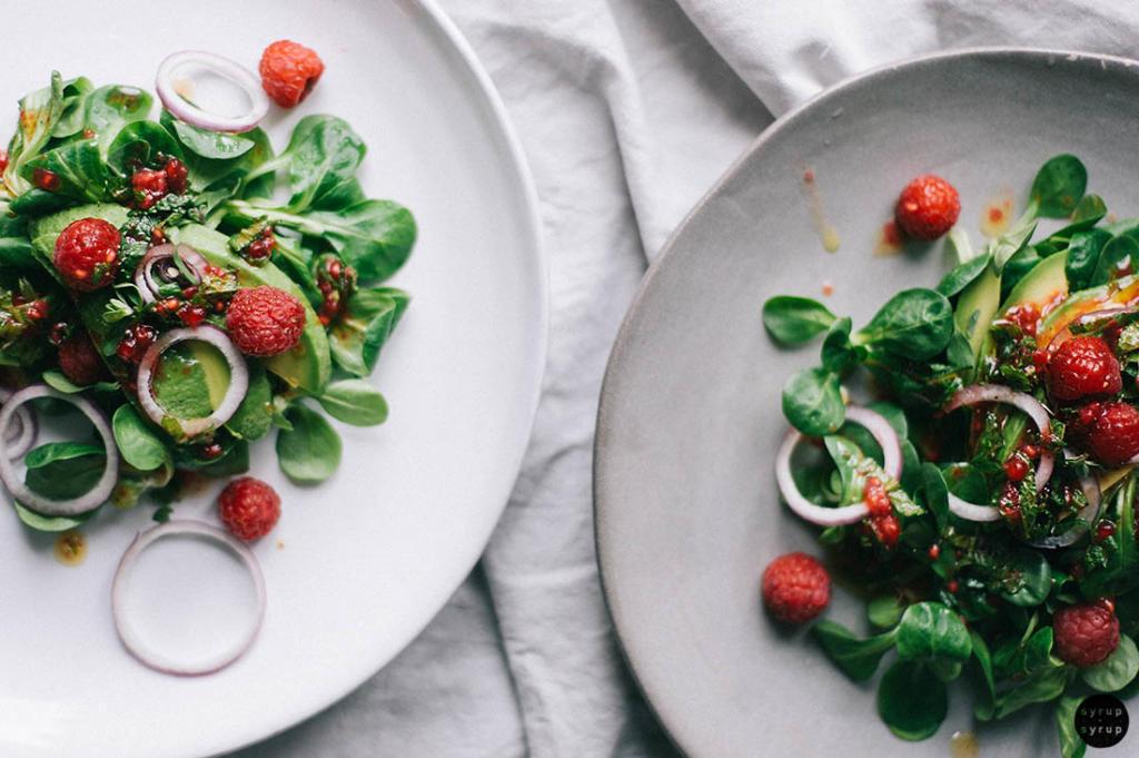 veganer salat 01 1024x681 - Salat zum Spätsommer