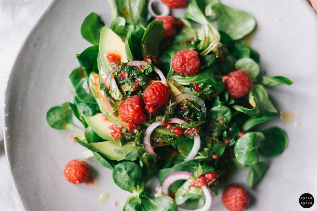 veganer salat 04 1024x681 - Salat zum Spätsommer